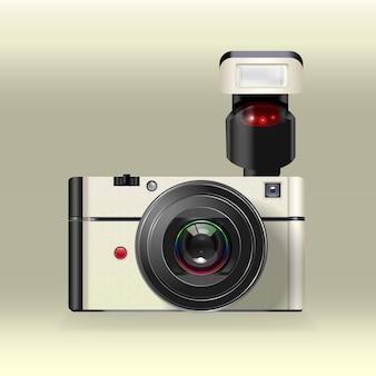 Vecteur d'appareil photo instantané