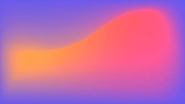 Vecteur d'arrière-plan flou dégradé rouge violet abstrait