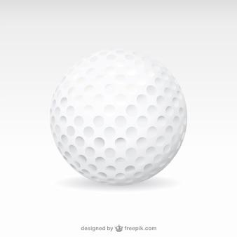 Vecteur de balle de golf art