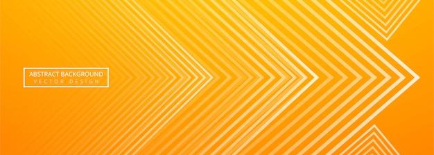 Vecteur de belle bannière géométrique créative