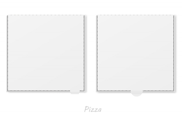 Vecteur de boîte à pizza