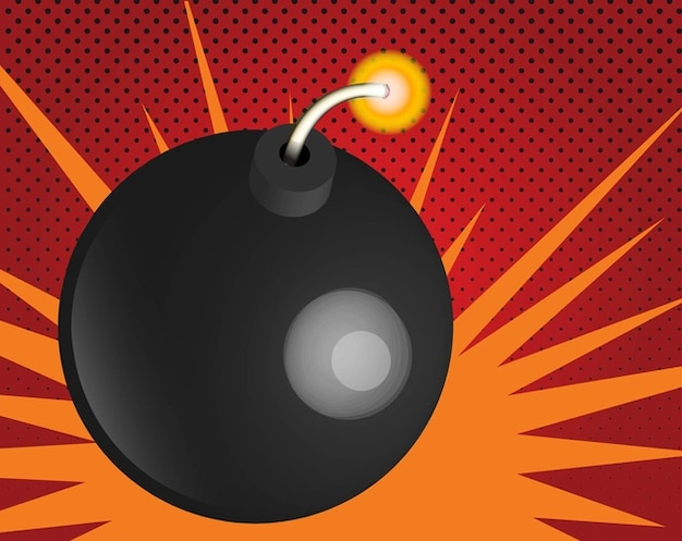 Vecteur de la bombe