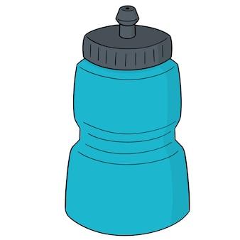 Vecteur de bouteille d'eau