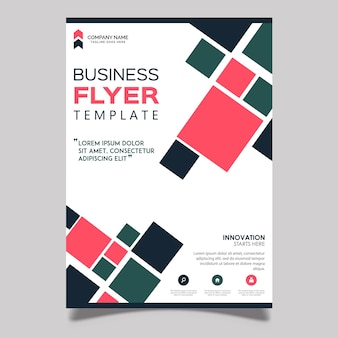 Vecteur business flyer designs