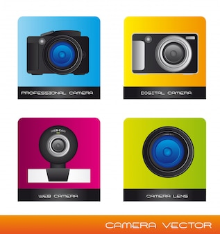 Vecteur de caméras
