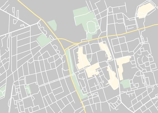 Vecteur de carte du monde, isolé sur blanc