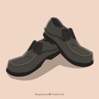 Vecteur chaussures