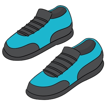 Vecteur de chaussures