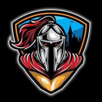 Vecteur chevalier gardien