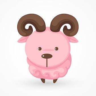 Vecteur de chèvre