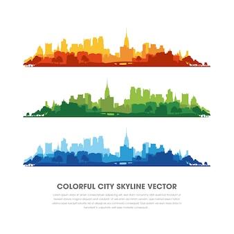 Vecteur cityspace