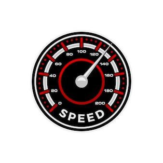 Vecteur de compteur de vitesse