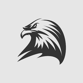 Vecteur de conception de logo d'aigle