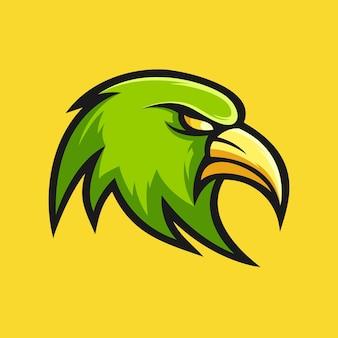 Vecteur de conception de logo eagle