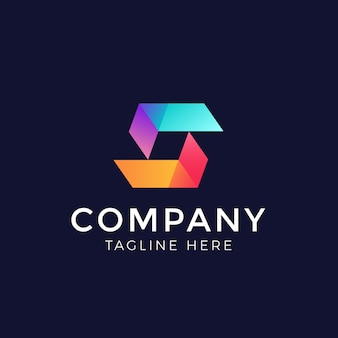 Vecteur de conception de logo d'élément