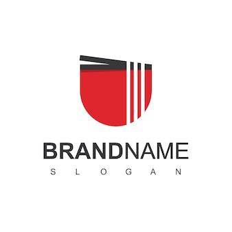 Vecteur de conception de logo de nouilles