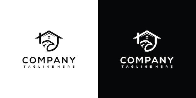 Vecteur de conception de logo phénix vecteur premium