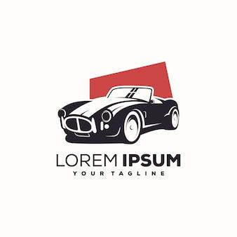 Vecteur de conception de logo de voiture