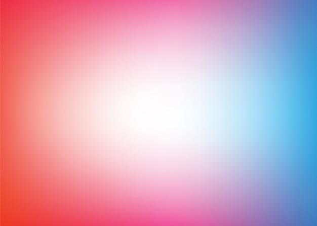 Vecteur de couleur abstraite floue fond dégradé.