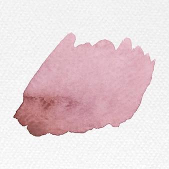 Vecteur de coup de pinceau aquarelle