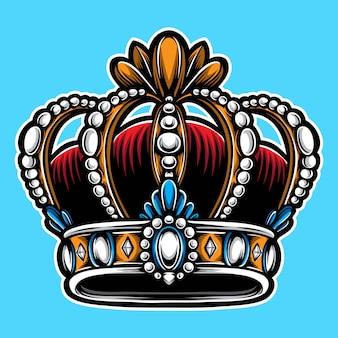 Vecteur couronne