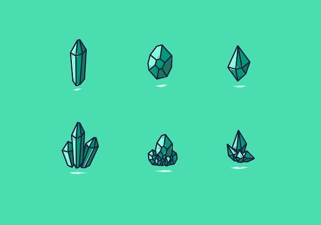 Vecteur de cristal