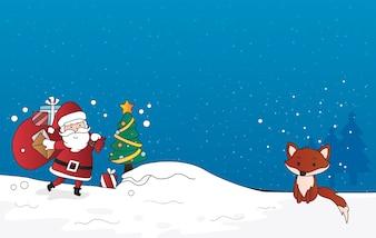 Vecteur de joyeux Noël