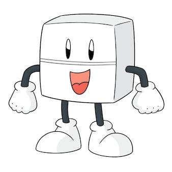 Vecteur de dessin animé tablette de médecine