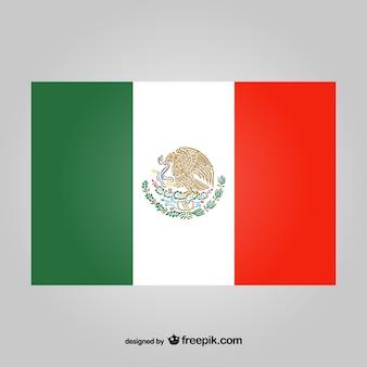 Vecteur de drapeau mexicain