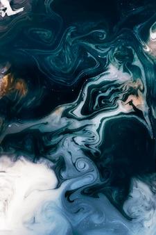 Vecteur d'élément de conception aquarelle bleu abstrait