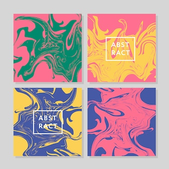 Vecteur d'encre texture aquarelle dessiné illustration marbrure, abstrait, aqua print