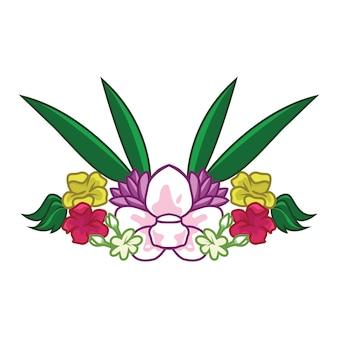 Vecteur de fleur simple