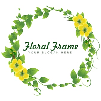 Vecteur de fleurs et de feuilles
