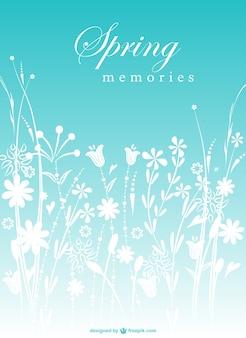 Vecteur des fleurs de printemps