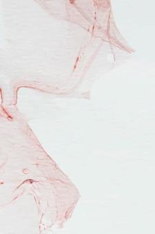 Vecteur de fond abstrait aquarelle rouge