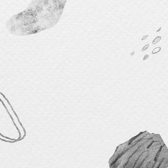 Vecteur de fond abstrait avc et texture dessinés à la main