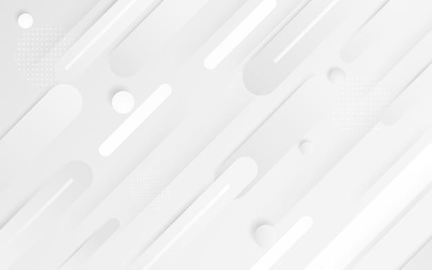 Vecteur de fond abstrait blanc résumé gris. fond de design moderne