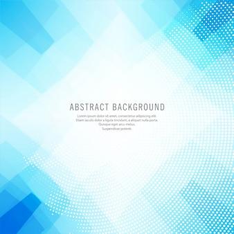 Vecteur de fond abstrait polygone bleu