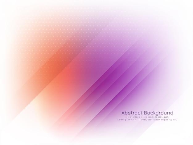 Vecteur de fond abstrait rayures colorées lumineuses
