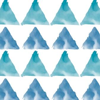 Vecteur de fond aquarelle vert bleu pastel