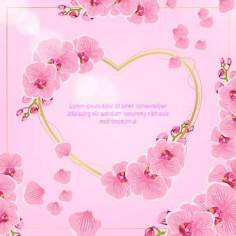 Vecteur de fond belle fleur