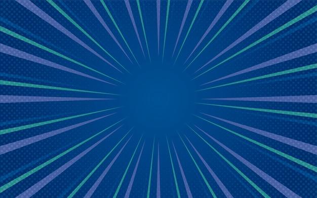 Vecteur de fond bleu demi-teinte dégradé