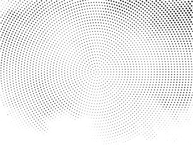 Vecteur de fond de conception de demi-teintes décoratives modernes
