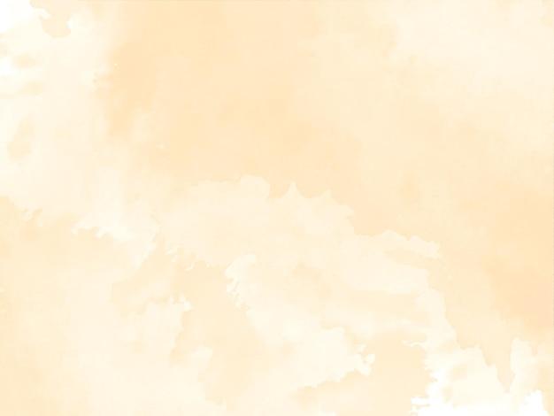 Vecteur de fond de conception de texture aquarelle marron doux