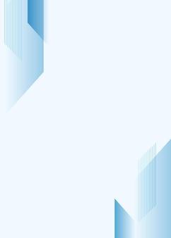 Vecteur de fond dégradé bleu simple pour les entreprises