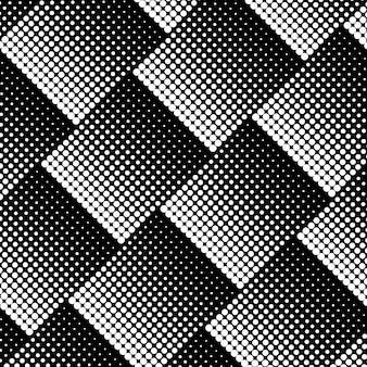Vecteur de fond de demi-teintes noir et blanc
