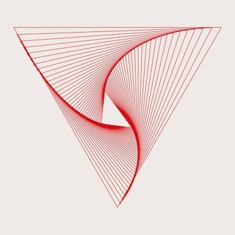 Vecteur de fond d'écran abstrait dynamique