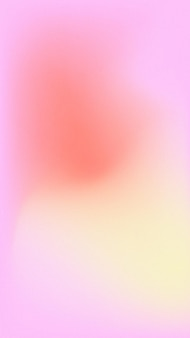 Vecteur de fond d'écran mobile coloré dégradé flou