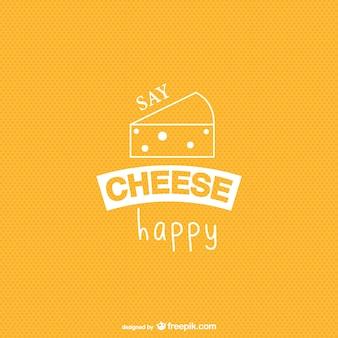 Vecteur de fond de fromage