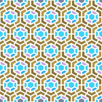 Vecteur de fond de géométrie fond semales